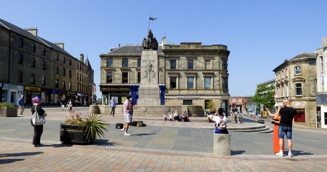 Living in Paisley, Scotland