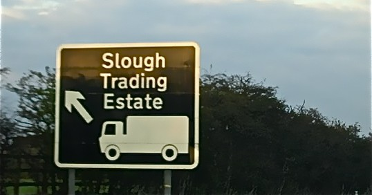 Living in Slough, Berkshire