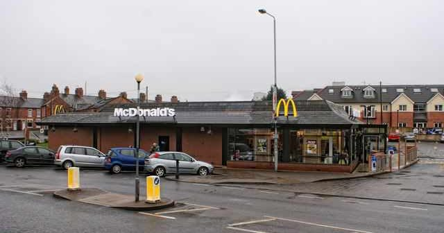 Melton Mowbray: Neanderthals loiter outside McDonalds, with not one GCSE in Car Theft between them