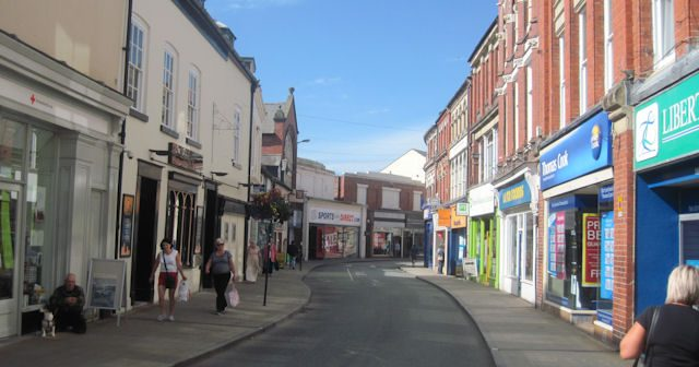 Living in Oswestry, Shropshire