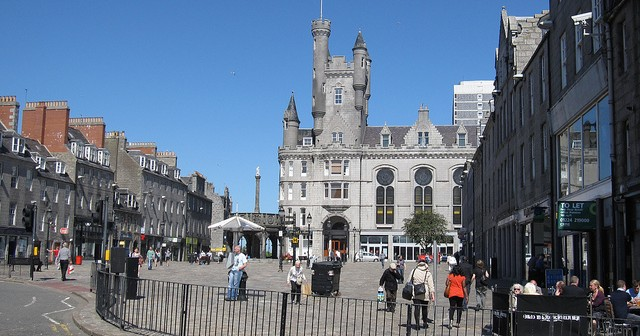 Living in Aberdeen, Scotland