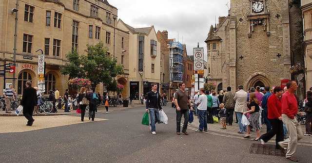 Living in Oxford, you're either Town or Gown