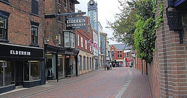 Living in Spalding, Lincolnshire