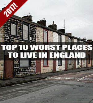 Top 10 worst places to live in England 2016
