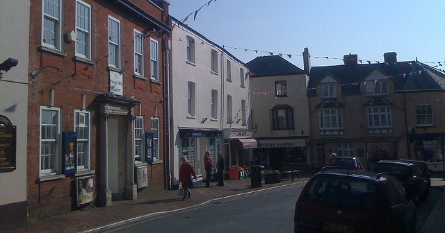 Great Torrington, situated in bumble-f*ck nowhere in North Devon