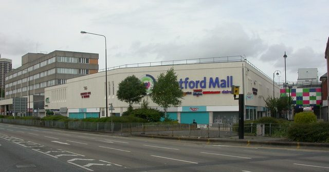 Stretford is a Mecca for chavs and scallies