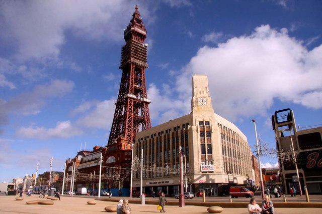 Top 10 worst places to live in England, Blackpool