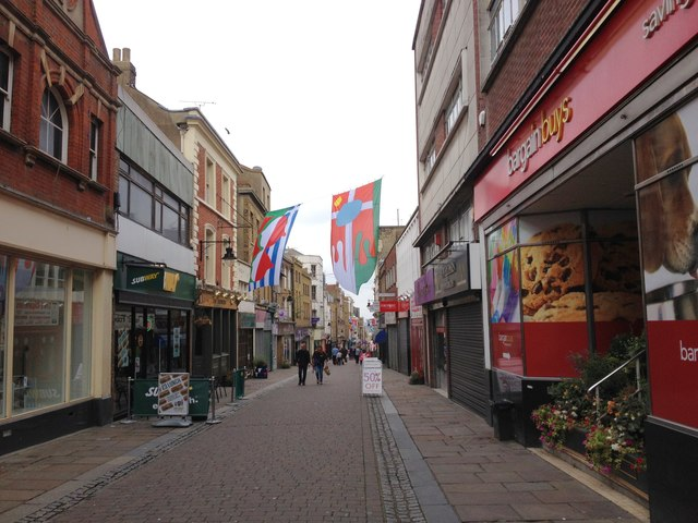 Top 10 worst places to live in England, Gravesend