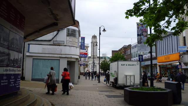 Top 10 worst places to live in England, Luton