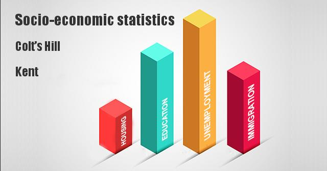 Socio-economic statistics for Colt's Hill, Kent