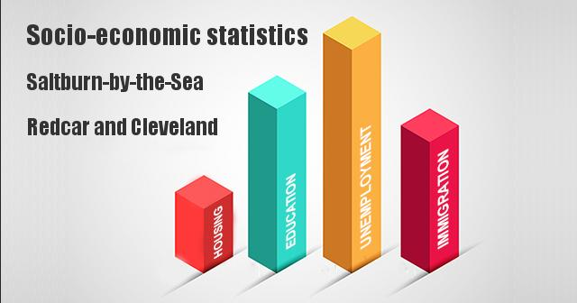 Socio-economic statistics for Saltburn-by-the-Sea, Redcar and Cleveland