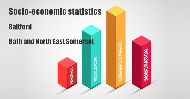 Socio-economic statistics for Saltford, Bath and North East Somerset