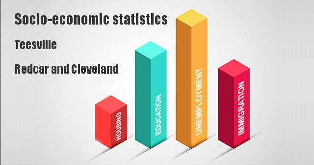 Socio-economic statistics for Teesville, Redcar and Cleveland