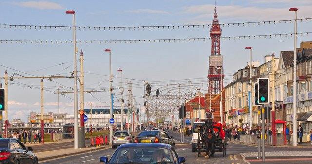 Living in Blackpool, Lancashire