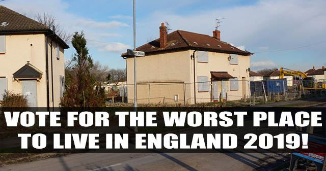 Vote for the worst place to live in England 2019